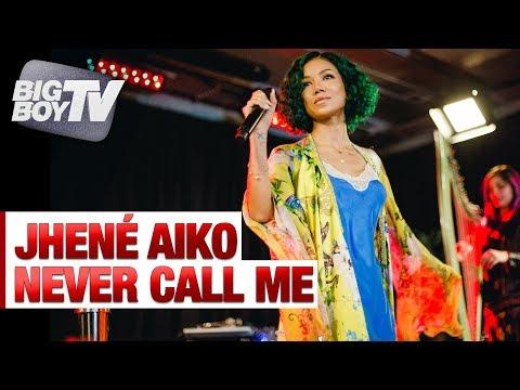 Jhené Aiko Performs 'Never Call Me' | Big Boy's Backstage w/ Jhené Aiko