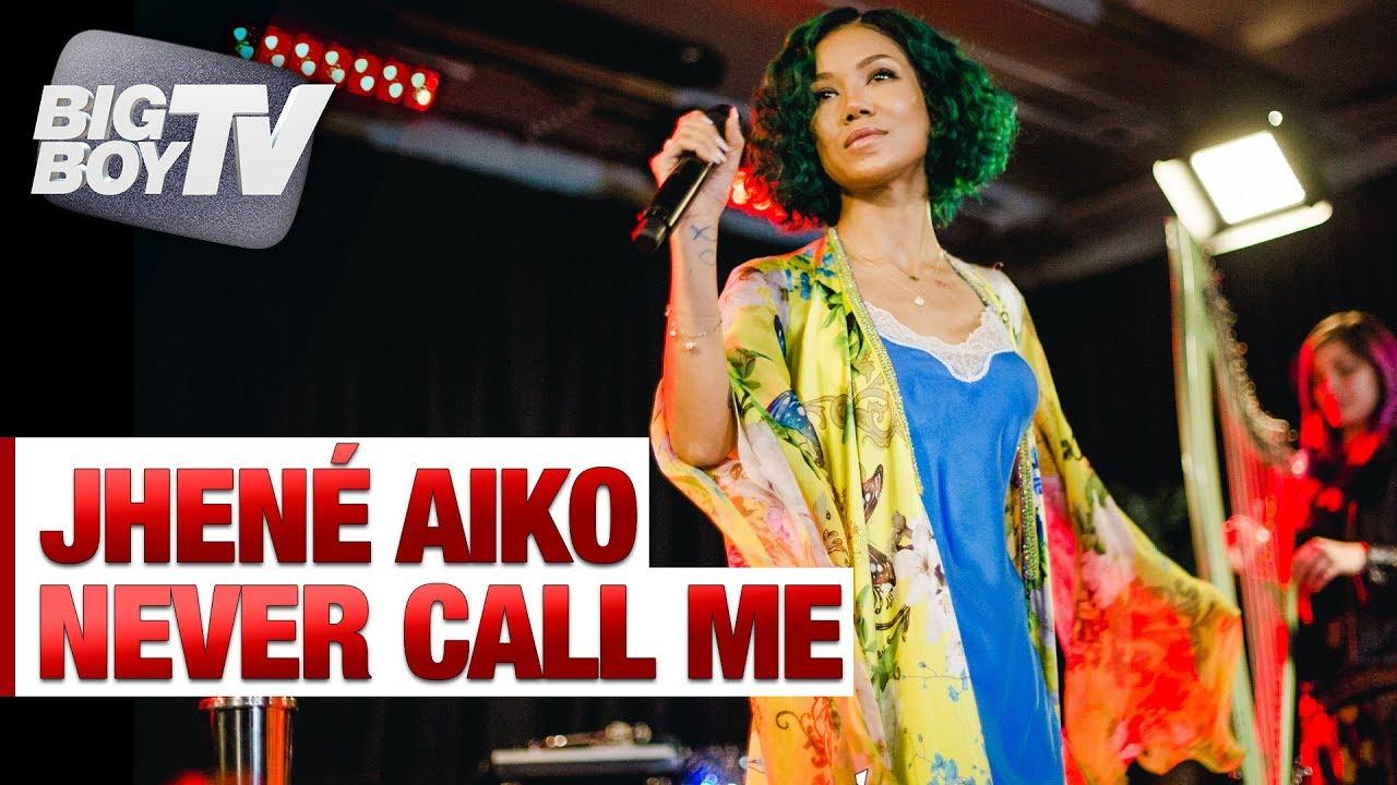 Download Jhené Aiko Performs 'Never Call Me' | Big Boy's Backstage w/ Jhené Aiko