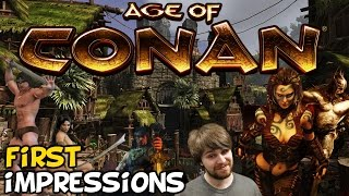 "Age Of Conan First Impressions ""Still Worth Playing?"""