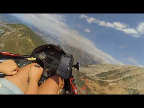 Alps 2017, gliding in Vinon Sur Verdon, St Auban