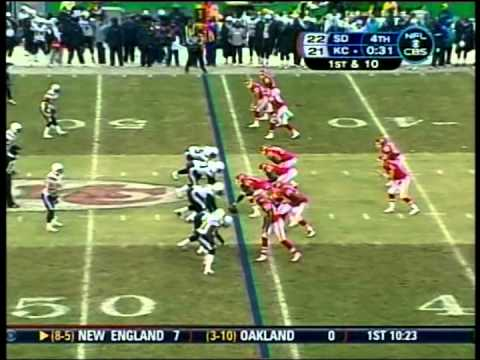 Chargers vs. Chiefs, 2008
