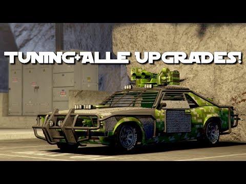 😍Bewaffneter Tampa Tuning + Alle Upgrades + Alle Waffen!😍 [GTA 5 Online Gunrunning Update DLC]