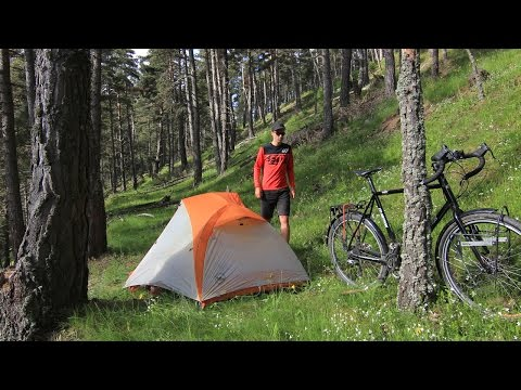 Bicycle Camping in Spain - Campsite Tour