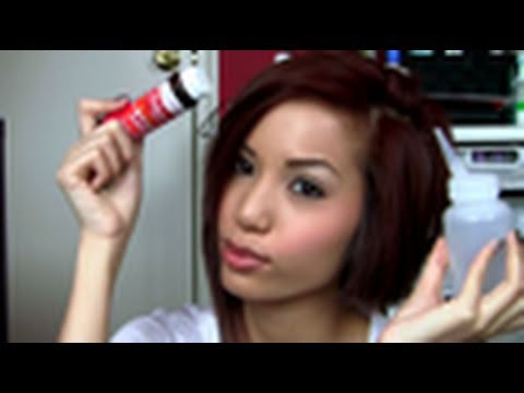 Hair Dye Color Info Amp Products Used Youtube