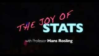Extracts from Hans Rosling's 'The Joy of Stats'