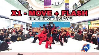 X1 (엑스원)  'MOVE & FLASH + DANCE BREAK' Cover By SAY1 from INDONESIA