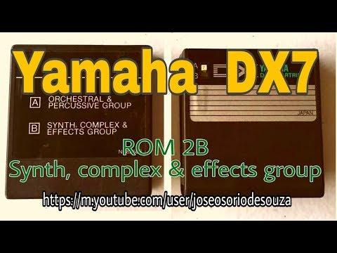 DX7 Original Patches ROM2B (Yamaha TX7 - Zé Osório)