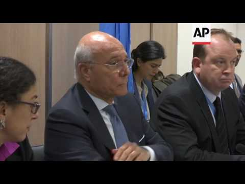 Syrian opposition at Geneva peace talks