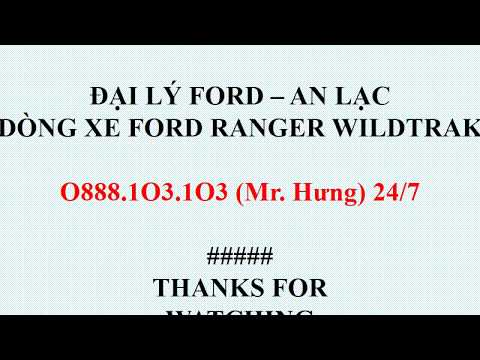 Giá Xe Ford Ranger Wildtrak 2019 Tại Bình Tân - O888.1O3.1O3