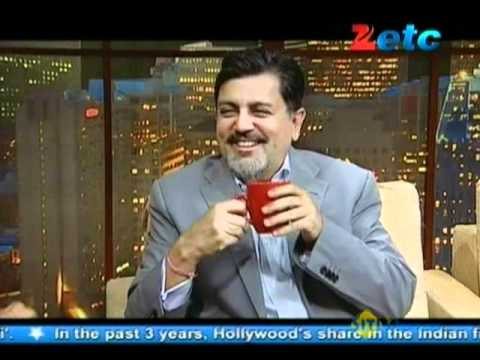 Komal Nahta with Vijay Singh CEO-Fox Star Studios Pvt.Ltd....