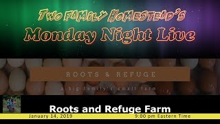 LIVE WITH ROOTS AND REFUGE FARM - TRIVIA - PRIZES - PHONE WILL BE OPEN