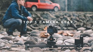 TOP 5 CAMERA GEAR to film CINEMATIC SHORT   Move with Rhino S2 EP4