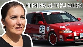 The AUTOSLALOM  Vlog  Filming and Photography of an event with Canon M6 Mark II