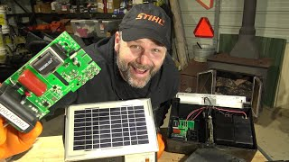 Farm Fencing: Electric fence controllers...Solar? DC or AC what's inside them!