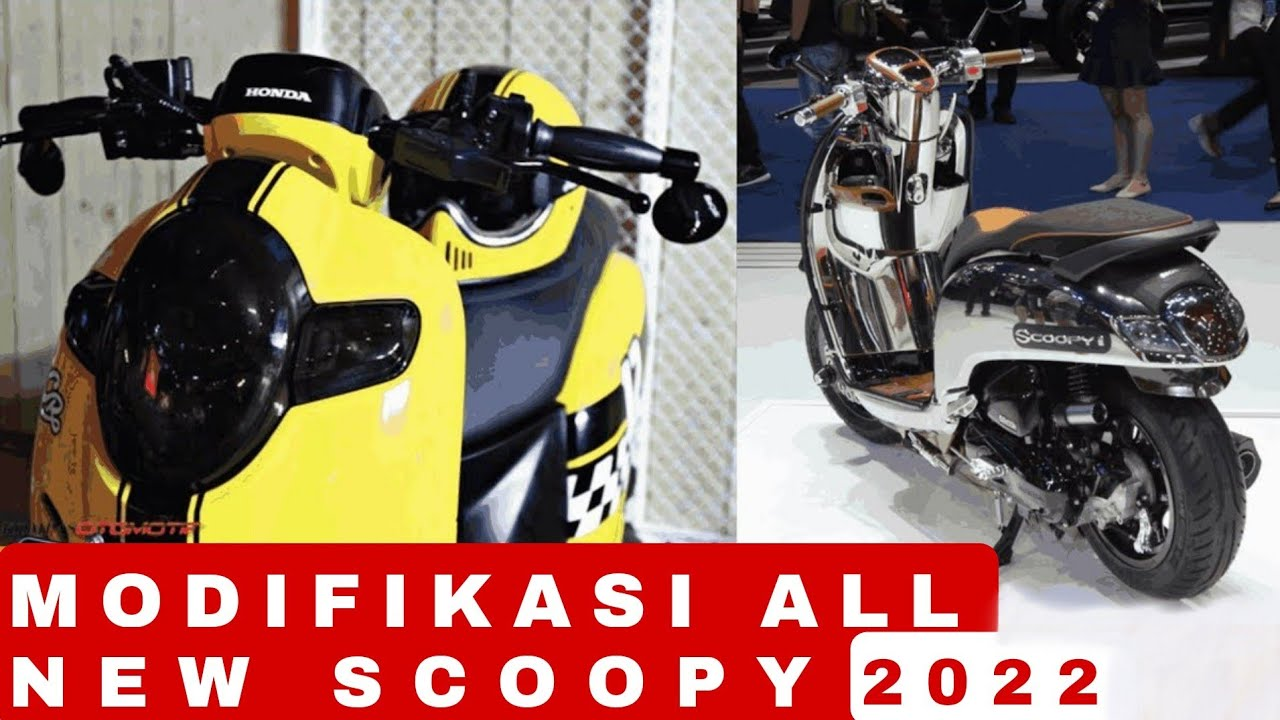 Tambah Keren All New Scoopy 2018 Youtube