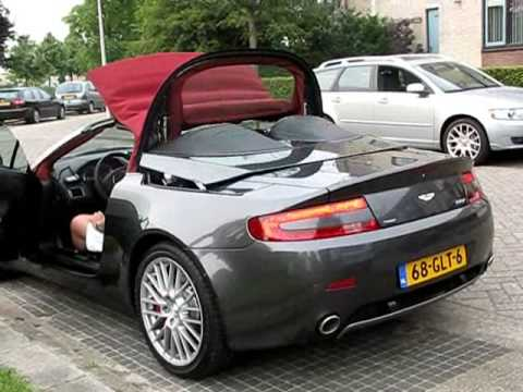 Aston Martin V8 Vantage Roadster My 2009 Youtube