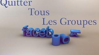 EP28 : Comment Quitter Tous Les Groupes Facebook D'un Coup