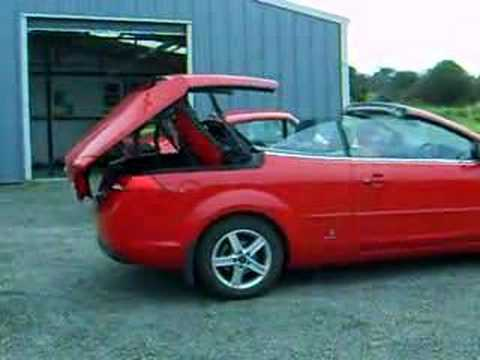 ford focus convertiblebrendan's new toy!!! - youtube