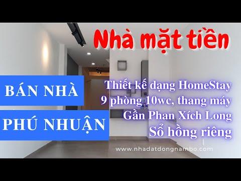 Chính chủ Bán nhà quận Phú Nhuận, Mặt tiền đường Nhiêu Tứ, tiện kinh doanh HomeStay, Khách sạn, văn phòng cty