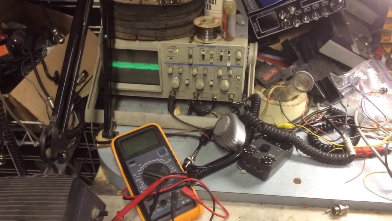 medium resolution of simple audio mixer cb setup youtube cb antenna wiring diagram cb radio mixer wiring