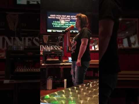 "My Main!!! Stephanie Stubbings - ""Mud Shovel"" 108 sports lounge karaoke"