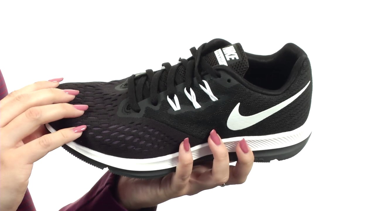 ab591cbd437 Nike Air Zoom Winflo 4 SKU 8834585 - YouTube