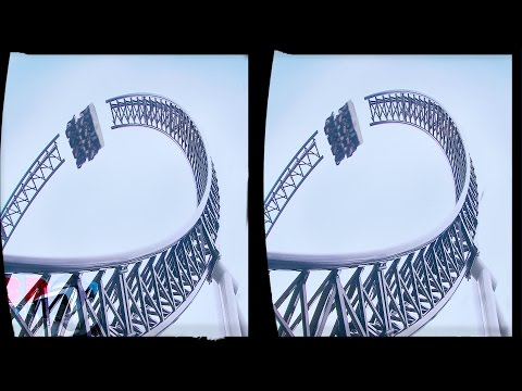 Generate 3D ROLLER COASTERS COLLECTION VR Videos 3D SBS Google Cardboard VR Virtual Reality VR Box Video 3D Pictures