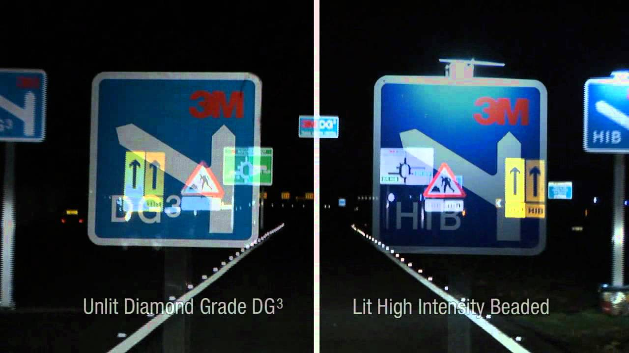 3m Diamond Grade Dg₃ Reflective Traffic Sign Vinyl Youtube