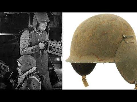 Unusual American WW2 Helmets