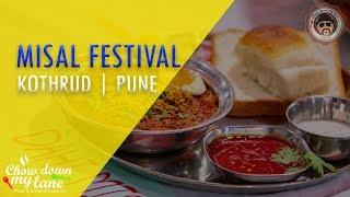Misal Pav Festival || Pune || 12 Misal Stalls Under One Roof
