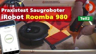 irobot Roomba 980 Test der Saugstärke Teil2