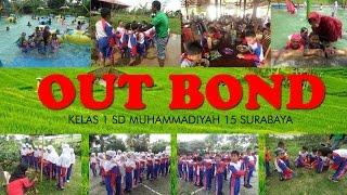 Outbond Kelas 1 SD Muhammadiyah 15