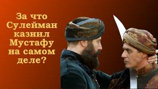Реальные причины казни шехзаде Мустафы