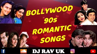 Bollywood 90s Romantic Songs   Bollywood 90s Songs   Hindi 90s Romantic Songs