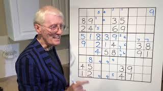 Unique Sudoku patttern. Tutorial # 65