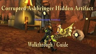 Corrupted Ashbringer Hidden Artifact Skin Guide / Walkthrough - WoW Legion
