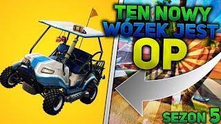 TEN NOWY WóZEK JEST OP - FORTNITE SEZON 5