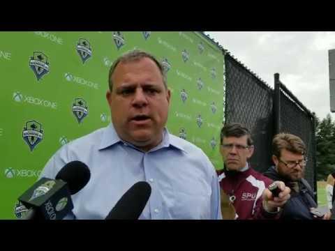 Sounders FC General Manger Garth Lagerwey on Adding Raúl Ruidíaz