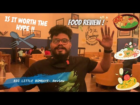 Big Little Bombaye in Vasai | Is it worth the HYPE ? | Food Review | English Breakfast in Vasai