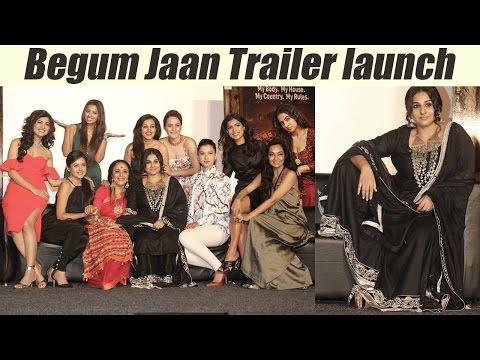 Begum Jaan Trailer launch | Vidya Balan | Gauhar Khan | Srijit Mukherji | FilmiBeat