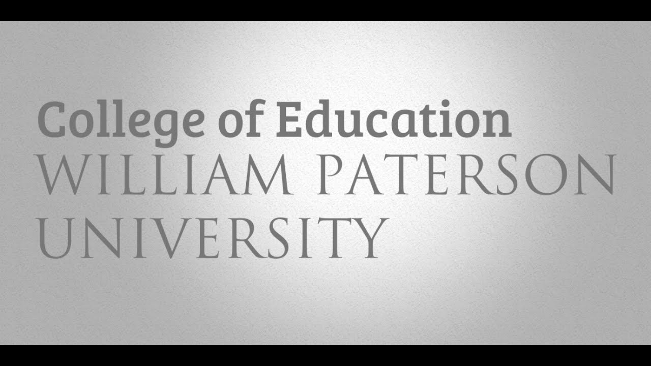 an introduction to the freshman at william paterson university In keeping with the mission of william paterson university  these objectives are first met during the freshman year through the and act as an introduction to.