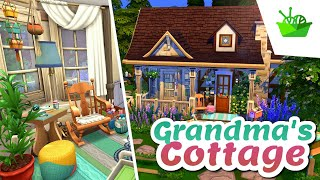 GRANDMA'S COTTAGE 👵 The Sims 4: Nifty Knitting || Speed Build (No CC)