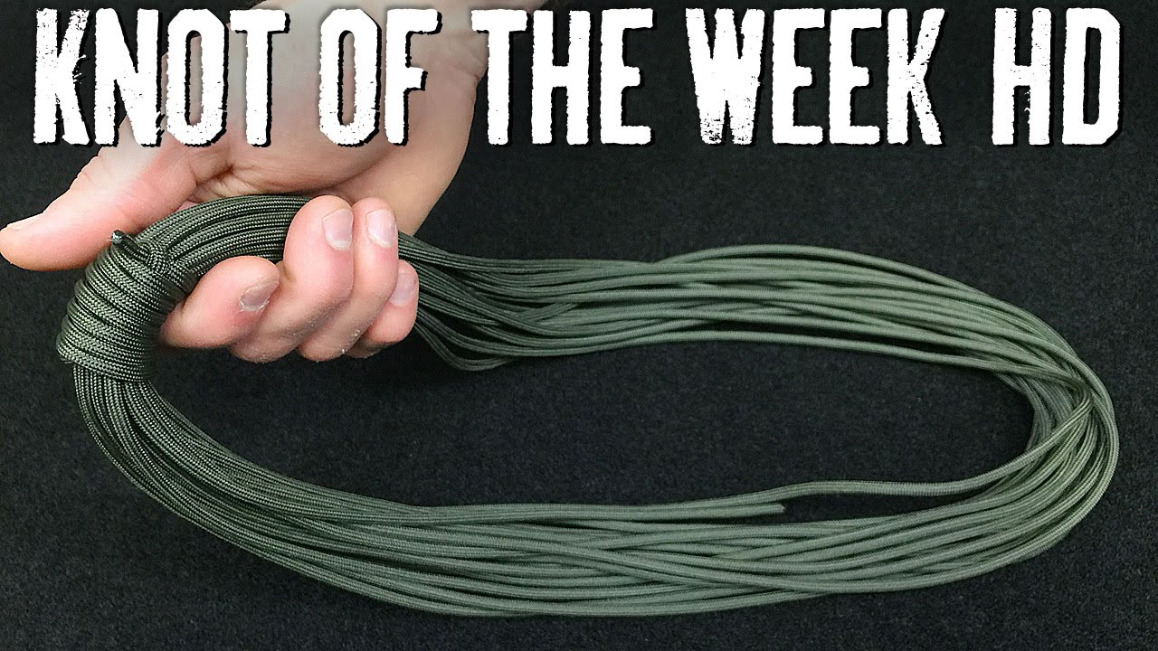 Use An Alpine Coil To Quickly Your Rope For Storage Its Knot Of The Week Hd