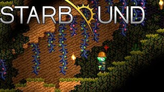 Starbound #4 Спускаемся под землю, хорошая замена Орион онлайн