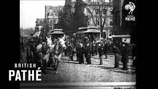 First Ever Video Footage (1893) of New York Fire Brigade