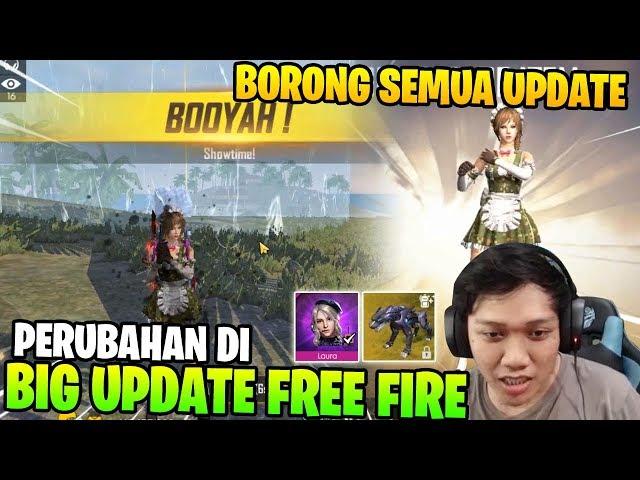 BERUBAH TOTAL! REVIEW UPDATE TERBARU BORONG SEMUA ITEM! - Garena Free Fire