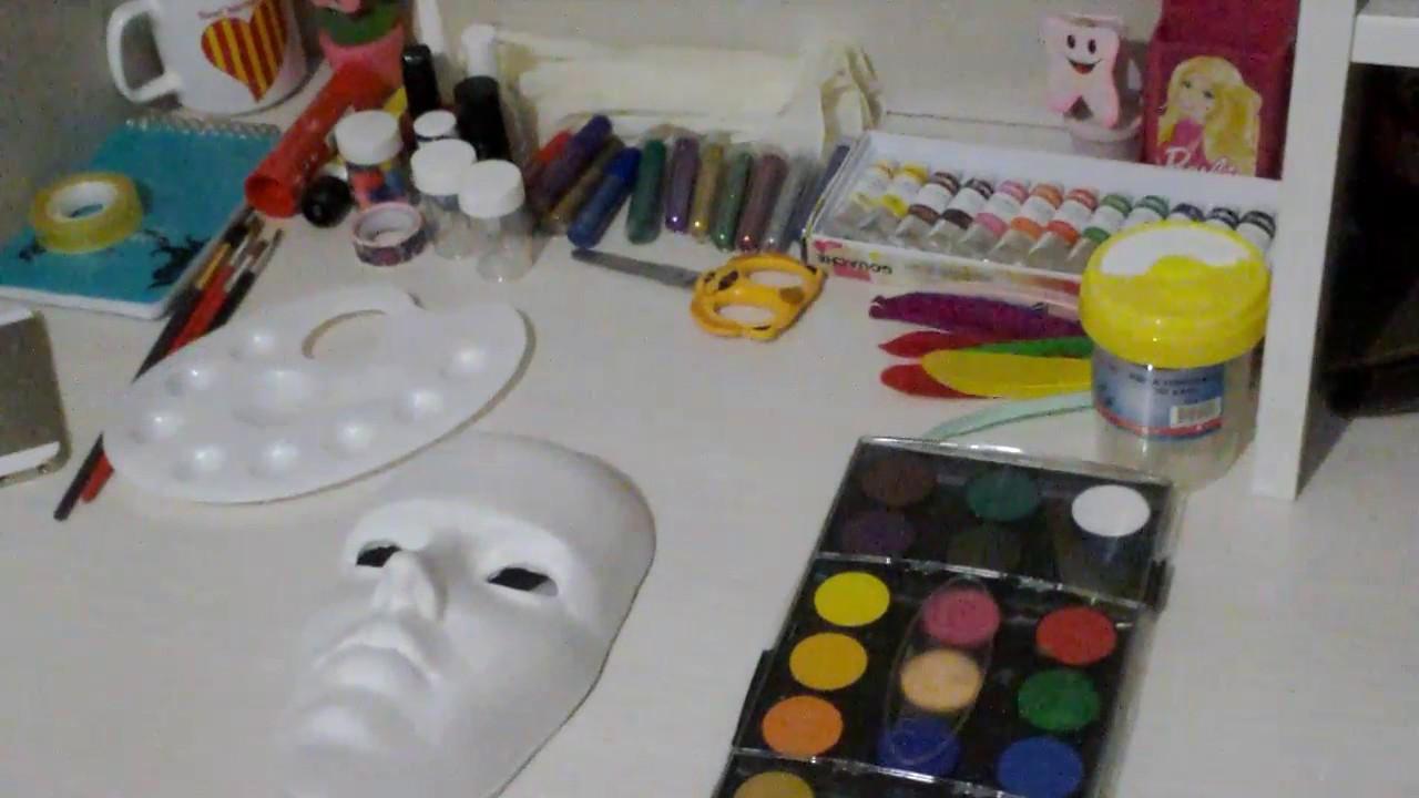 Maske Yapımı ödev Youtube