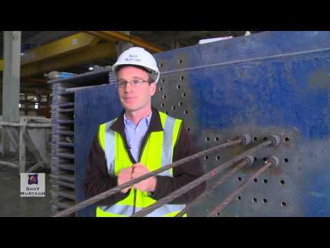 Q1. How does a prestressed precast concrete bridge beam work?