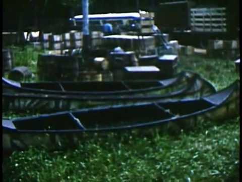 """1954 Movie Set Footage """"Saskatchewan"""" Filmed in Banff Alberta"""
