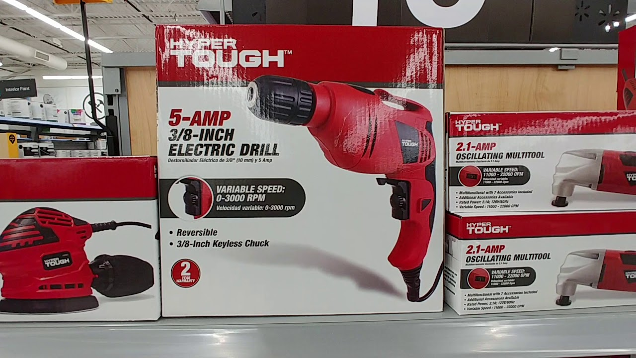 Hyper Tough Tools At Walmart - 2019